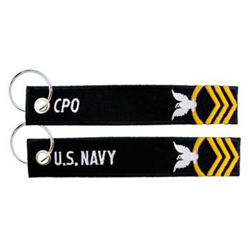 Eagle Crest USN Navy CPO Keychain