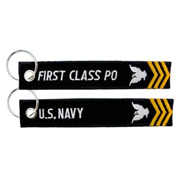 EC USN 1ST CLASS PETTY OFFICER KEYCHAIN