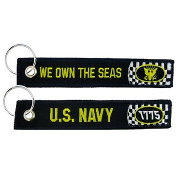 Eagle Crest USN We Own The Seas Keychain