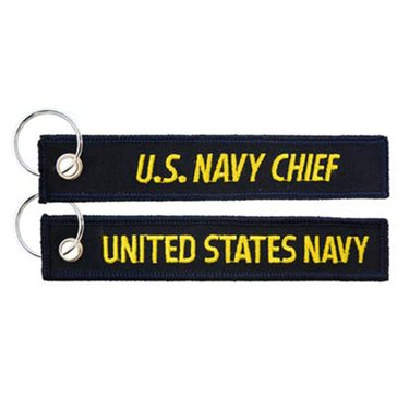 Eagle Crest USN Navy Chief Keychain