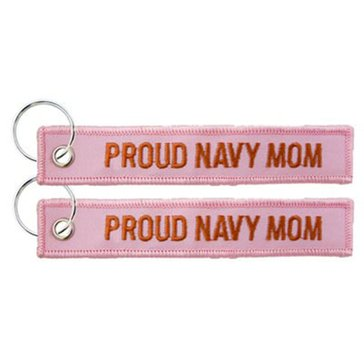 Eagle Crest USN Navy Mom Keychain