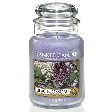Yankee Candle Large Classic Jar Candle, Lilac Blossoms