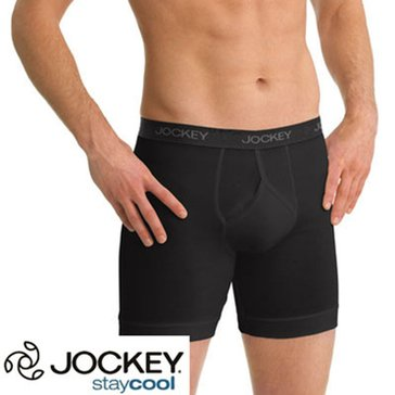 Jockey Stay Cool Plus 3PK Midway - Black
