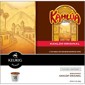 Timothy's Kahlua Coffee K-Cup Pods, 18-Count