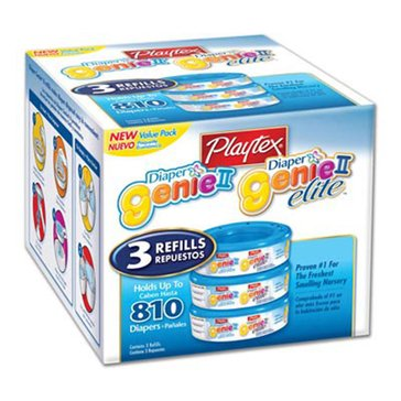 Playtex Diaper Genie Refill, 3-Pack