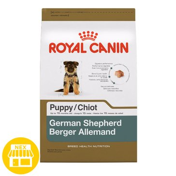 Royal Canin German Shepherd Puppy Dry Dog Food, 30 lbs.
