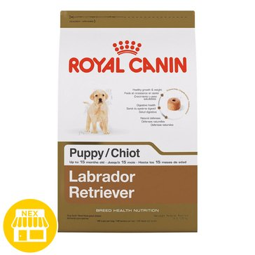 Royal Canin Labrador Retriever Puppy Dry Dog Food, 30 lbs.
