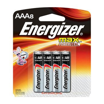 Energizer Max AAA Alkaline Batteries, 8-Pack