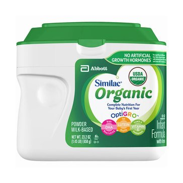 Similac Advance Organic Powder 1.45lbs