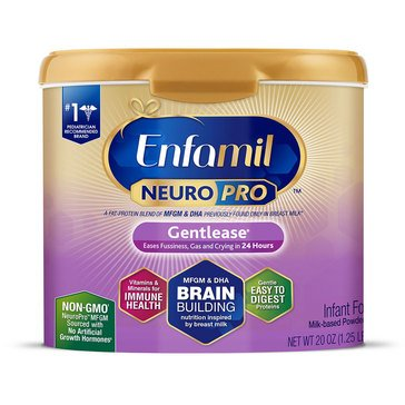Enfamil Neuropro Gentlease Powder Tub 20oz