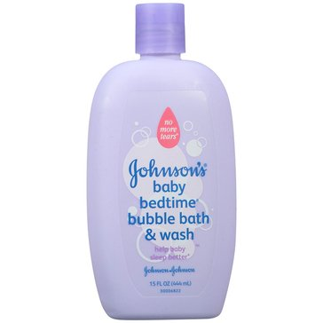 Johnson's Baby Bedtime Bubble Bath and Wash 15oz