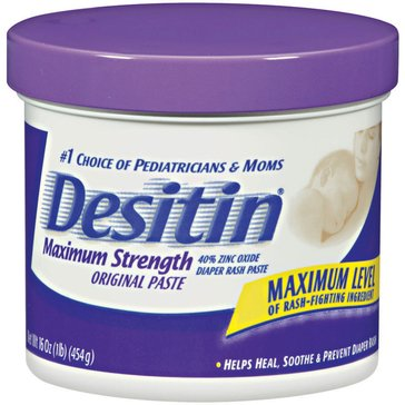 Desitin Diaper Rash Paste Maximum Strength Jar 16oz