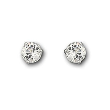 Swarovski Crystal Solitaire Earring