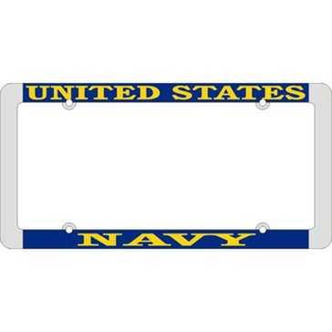 Mitchell Proffitt USN License Plate Frame
