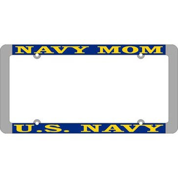 MP USN  MOM THIN LICENSE PLATE FRAME