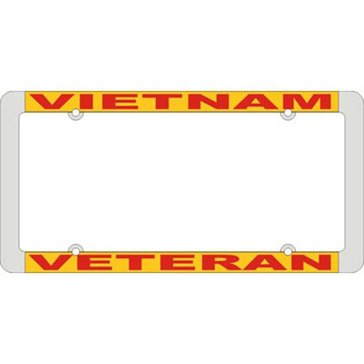 Mitchell Proffitt Vietnam Veteran License Plate Frame