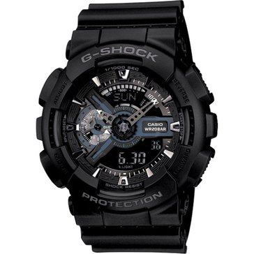Casio Men's G-Shock Analog Black Digital Watch, 55mm