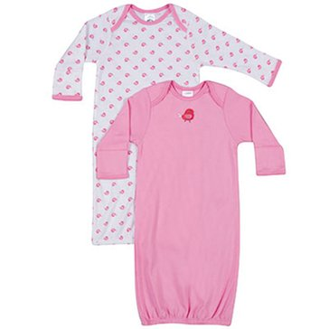 Gerber Baby Girls' 2-Pack Gowns_D