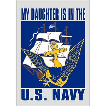 Mitchell Proffitt USN Daughter Decal