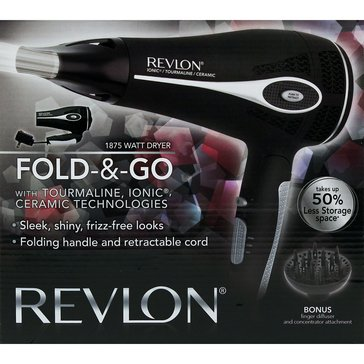 Revlon Fold & Go Dryer 1875W