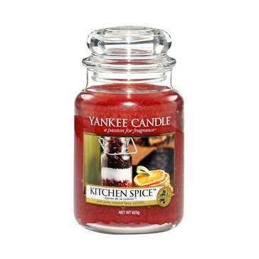 Yankee Candle Kitchen Spice Large Classic Jar