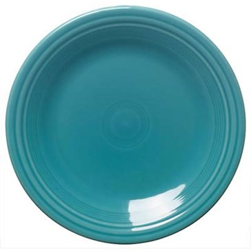 Fiesta Dinner Plate, Turquoise