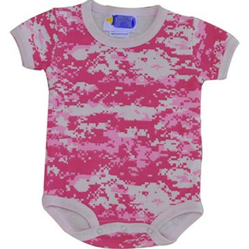 Trooper USN Infant 2 Pc Pink Onesies