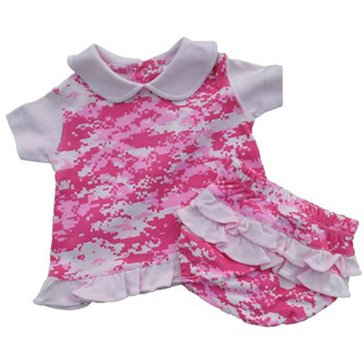Trooper USN Pink Digital Camo 2pc Dress