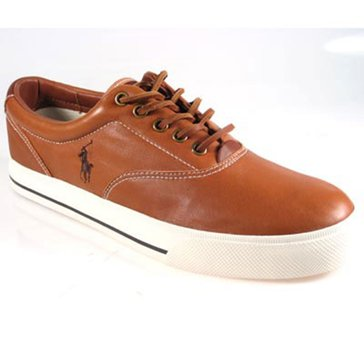 Polo Ralph Lauren Vaughn Men's Tan Leather Sneaker