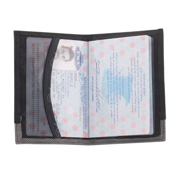 Lewis N. Clark Passport Case Rfid Protection - Black