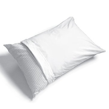 Anti-Microbial Standard Cotton/Polyester Pillow Protector