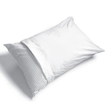 Anti-Microbial Cotton/Polyester Pillow Protector - Queen