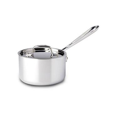 All-Clad Stainless Steel 1.5-Quart Sauce Pan W/ Lid