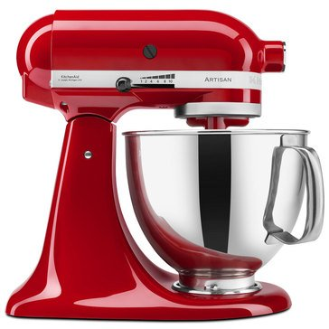 KitchenAid Artisan Series 5-Quart Tilt-Head Stand Mixer - Empire Red (KSM150PSER)