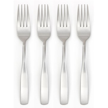 Cambridge Madison Satin Dinner Forks, Set of 4