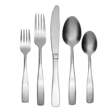 Cambridge Madison Satin 62-Piece Flatware Set