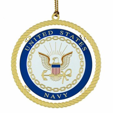 Chemart Navy Military Keepsakes Ornament