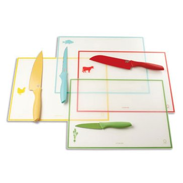 Martha Stewart Collection Colored Knives, Set of 4
