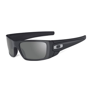 Oakley Standard Issue Men's Fuel Cell Sunglasses, Matte Black/Grey