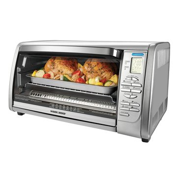 Black & Decker 6-Slice Digital Convection Countertop Toaster Oven (CTO6335S)