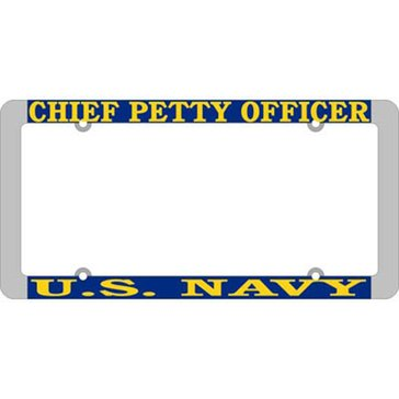 Mitchell Proffitt USN CPO License Plate Frame