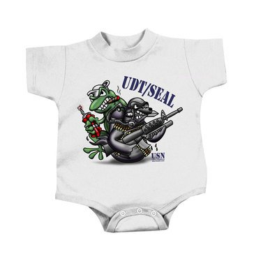 NavalTees UDT/SEAL Infant Onesie