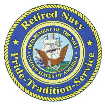 Mitchell Proffitt USN Retired Decal