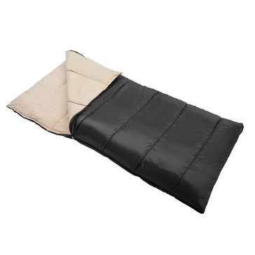 Wenzel 3Lb 33 X 75 Cascade Sleeping Bag  - Black