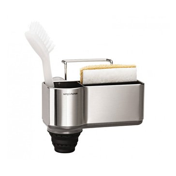 simplehuman Brushed Stainless Steel Sink Caddy