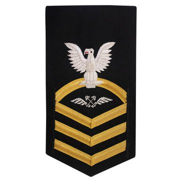 PREMIER Men's E7 (ABC) Rating Badge for Aviation Boatswain's Mate