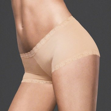 Maidenform Microfiber And Lace Boyshort - 40760