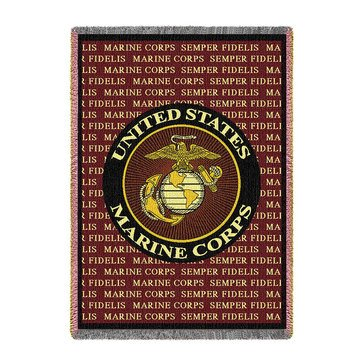 Pure Country USMC Throw Blanket