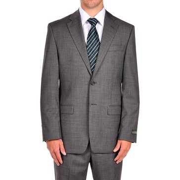 Lauren Suit Separate Men's Single BreastedJacket- Charcoal