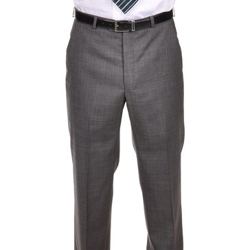 Lauren Suit Separate Pant-Men's Plain Front Pant- Charcoal